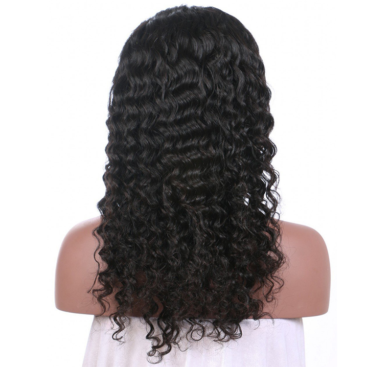 10a brazilian hair wholesale 13x4 Wig Italian Curly lace frontal