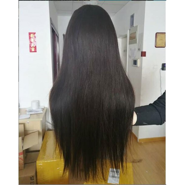 10a brazilian hair wholesale 13x4 Wig Silky Straight lace frontal