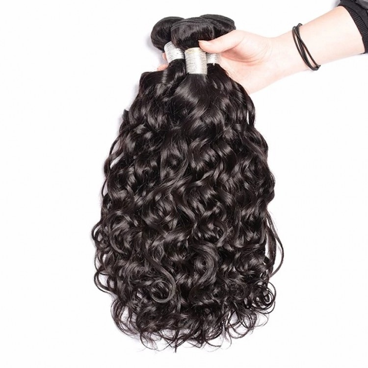 1 BUNDLE OF BRAZILIAN HAIR NATURAL WAVE 10A GRADE HAIR FOR SALE